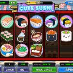Funzio Jackpot Slots Cute Sushi Board