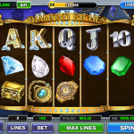 Funzio Jackpot Slots Diamond Riches Board
