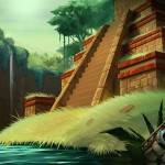 Funzio Jackpot Slots Mayan Fortune Background
