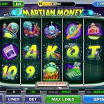 Funzio Jackpot Slots Mega Martian Board